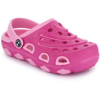 Phedarus Comfortable Clogs for Girls - Pink