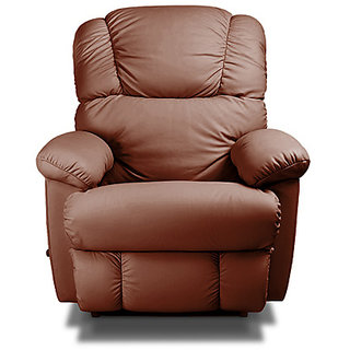 Encompass - Tan Tan Genuine Pure Leather Recliner