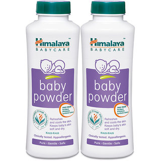 Himalaya Baby Powder 400 gm (Pack of 2)