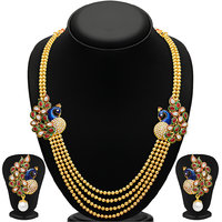 Sukkhi Gold Plated Alloy Necklace Set For Women