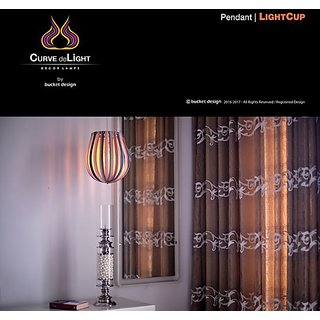 Curve deLight - Light Cup - Home Décor Lamp -Pendant