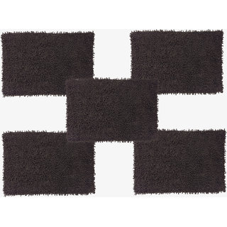 Bathmat Cotton Brown (Karisma-Dark Brown-5)