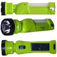 Rock Light LASER + 1 Tube Solar Torch + Emergency Light
