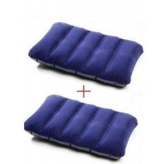 Buy 1 Get 1 Free Intex Travel Air Comfort Rest Water Proof Fabric Pillow