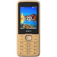 Zen Ultra 201 Dual SIM Basic Phone (Champagne-Black)