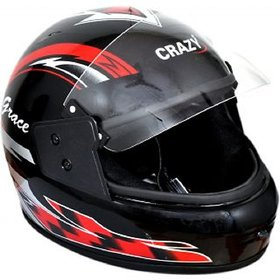 Crazy Helmet  with ISI Mark (Dual Visor)