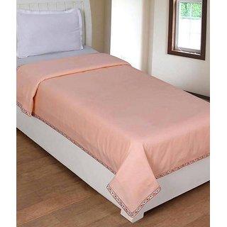 Volvo Single Bed Plain Cotton Top Sheet Set of 2 Pc.