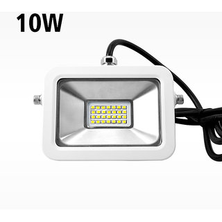 snap light 10w led outdoor flood light white focus waterproof hrs long life