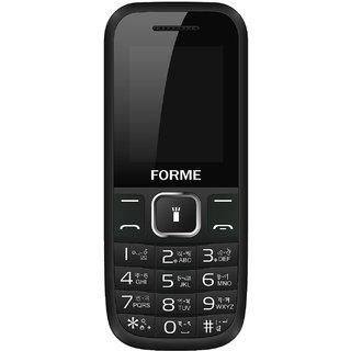 Forme N8( Black+Blue) ( 850 MAh Battery,Dual SIM,1.8 In