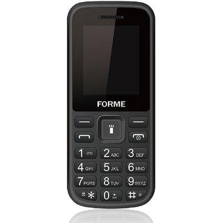 Forme N2(Black+Blue)( 850 mAh Battery,Dual SIM,1.8 Inch Display,Rear Flash Camera)