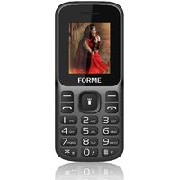 Forme N1 (Black+Grey) (850 mAh Battery,Dual SIM,1.8 Inch Display,Rear Flash Camera)