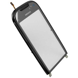 High Quality Touch Screen Digitizer Glass For Nokia C7 Frosty Black