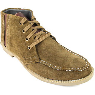 JerryMouse.in Mens Beige Leather High-Ankle-Shoe - MCAS0057 [CLONE]