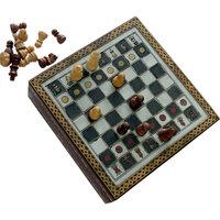 Handmade Rajasthani Gemstone Chessboard Game Handmade Item
