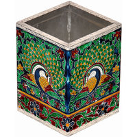 Oxidized Jaipuri Menakari Work Beautiful Impressive Stylish Pen Stand