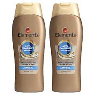 Elements Anti Dandruff Shampoo (Pack Of 2)