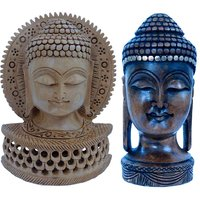 Buy Hand Carved Antique Lord Buddha Idol N Get Buddha Statue Free