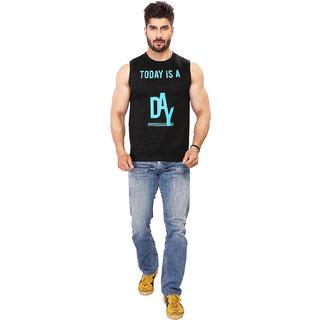 Black Majik Men'sPrintedCrew Neck T-shirt