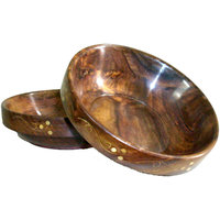 Wooden Bowls (Set Of 2) - The Woods Hut
