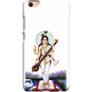 FUSON Designer Back Case Cover for Vivo V5 (Goddess Of Knowledge Eloquence Learning Saraswati)