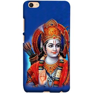 FUSON Designer Back Case Cover for Vivo V5 (Ravana Fight Purshottam Hindu God Lotus Vishnu  )