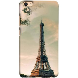 Buy Fuson Designer Back Case Cover For Vivo V5 Paris Sunrise