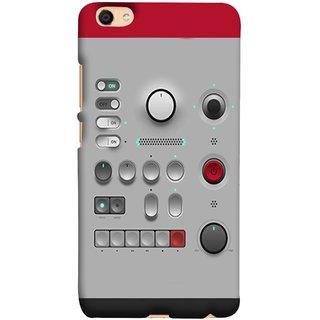 FUSON Designer Back Case Cover for Vivo V5 (Lots Of Buttons Switch Lights Volumn Power Indicator)