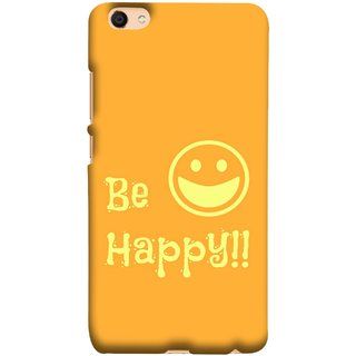 FUSON Designer Back Case Cover for Vivo V5 (Big Smile Best Wallpapers Inspiration Quote)
