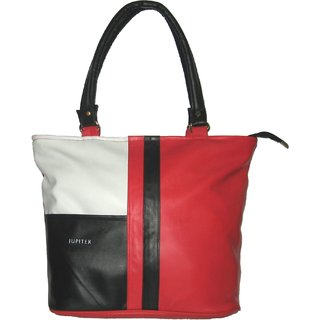 Jupiter Stylish Ladies Hand Bag - RedBlack RH