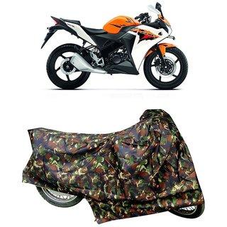 De AutoCare Premium Quality Junglee Matty Two Wheeler Bike Body Cover For Honda CBR