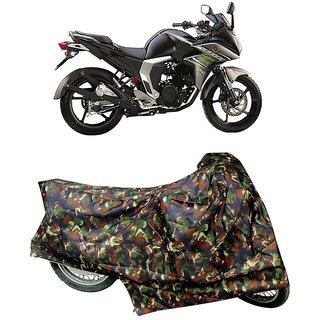 De AutoCare Premium Quality Junglee Matty Two Wheeler Bike Body Cover For Yamaha Fazer