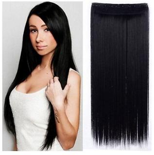 Tahiro Black Casual Hair Extension - Pack Of 1