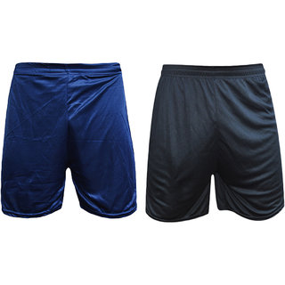Sports Polyester Multi-colour Short Set(Pack of 2)