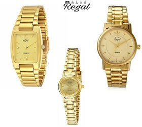 Mark Regal Combo of 2 Unisex Watches