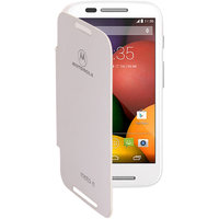 Koloredge Flip Cover For Motorola Moto E -White