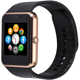 Bingo T50 Gold Sim And Memory Slot Bluetooth Android and IOS System Support Smartwatch