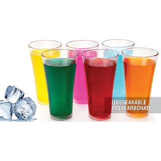 Nueva Transparent Glass Set (Set of 6, 150 ml)