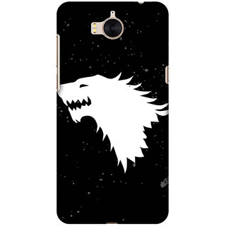 Amzer Designer Case Printed Protective Back Cover Team Stark For Huawei Y5 2017