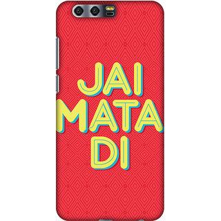Amzer Designer Case Printed Protective Back Cover Jai Mata Di For Huawei Honor 9