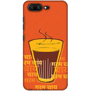 Amzer Designer Case Printed Protective Back Cover Cutting Chai For The Soul For Gionee S10