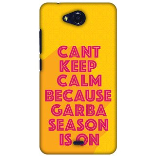 Amzer Navratri Designer Case Printed Protective Back Covers Garba Can?T Keep Calm For Micromax Canvas Play Q355