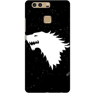 Amzer Designer Case Printed Protective Back Cover Team Stark For Huawei P9