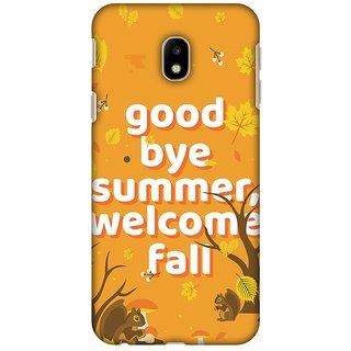 Amzer Designer Case Printed Protective Back Cover Goodbye Summer For Samsung Galaxy J3 Pro 2017 SM-J330G