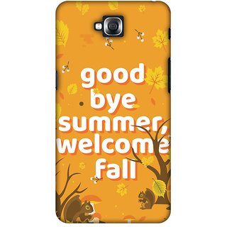 Amzer Designer Case Printed Protective Back Cover Goodbye Summer For LG G Pro Lite D686