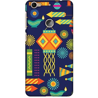 Amzer Diwali Designer Case Printed Protective Back Covers Diwali Galore For LeEco Le 1S