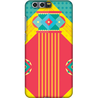 Amzer Diwali Designer Case Printed Protective Back Covers Let There Be Lamp For Huawei Honor 9