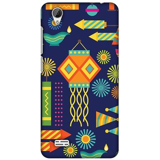 Amzer Diwali Designer Case Printed Protective Back Covers Diwali Galore For Vivo Y31