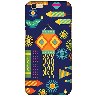 Amzer Diwali Designer Case Printed Protective Back Covers Diwali Galore For Oppo A39
