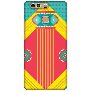 Amzer Diwali Designer Case Printed Protective Back Covers Let There Be Lamp For Huawei P9