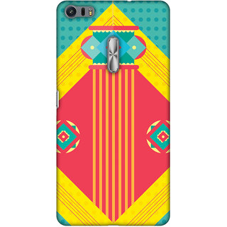 Amzer Diwali Designer Case Printed Protective Back Covers Let There Be Lamp For Asus ZenFone 3 Ultra ZU680KL